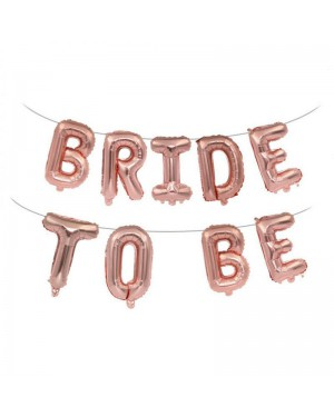 בלון אותיות bride to be רוז גולד